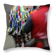 Zangarron Mascarade 8 Throw Pillow