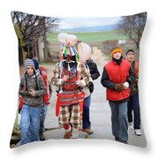 Zangarron Mascarade Throw Pillow