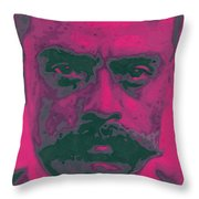 Zapata Intenso Throw Pillow by Roberto Valdes Sanchez