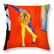 Zapatos 3 Throw Pillow