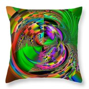 Zapdro Throw Pillow