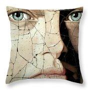 Zara - Study No. 1 Throw Pillow