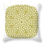 Zawiyah Muqarna Cream Throw Pillow
