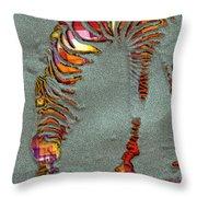 Zebra Art - 64spc Throw Pillow
