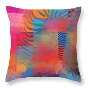 Zebra Art - Mtc077b Throw Pillow