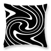 Zebra Pattern Throw Pillow by Lali Kacharava