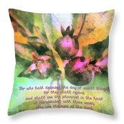 Zechariah 4 10 Throw Pillow