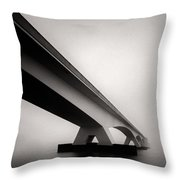 Zeelandbrug 2 Throw Pillow