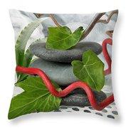 Zen 7 Throw Pillow