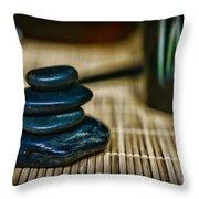 Zen Balance Is Key Throw Pillow