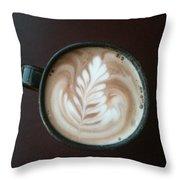Zen Cocoa Throw Pillow