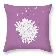 Dandelion In Love Throw Pillow