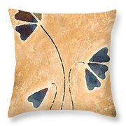 Zen Splendor - Dragonfly Art By Sharon Cummings. Throw Pillow by Sharon Cummings