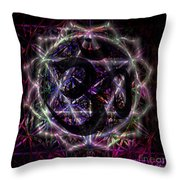 Zero One Throw Pillow