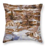 Zheravna Throw Pillow