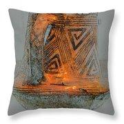 Zigzag Mug With Handle Throw Pillow