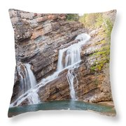 Zigzag Waterfall Throw Pillow