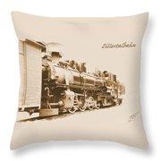 Zillertal Railway Throw Pillow