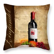 Zinfandel IIi Throw Pillow