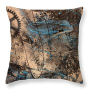 Zion 1178 Throw Pillow by Bruce Stanfield