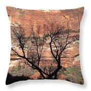 Zion Canyon Tree #1 Throw Pillow