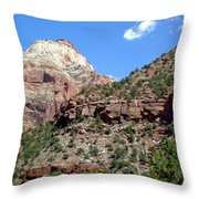 Zion National Park 2 Throw Pillow