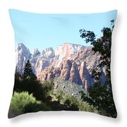 Zion Park Majestic View Throw Pillow