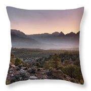 Zion Sunrise Throw Pillow