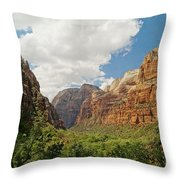 Zion Valley Throw Pillow