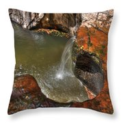 Zions 7 Throw Pillow