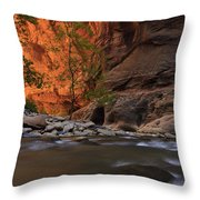 Zions 9 Throw Pillow