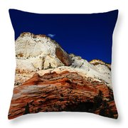 Zions Mount Throw Pillow