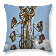 Zipper In The Sky Throw Pillow