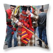 Zngrron Mascarade 2 Throw Pillow