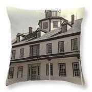 Zoar Hotel Throw Pillow