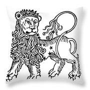 Zodiac Leo, 1482 Throw Pillow