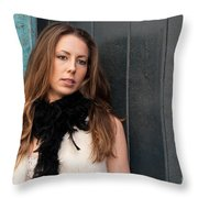 Zoe 12 Throw Pillow