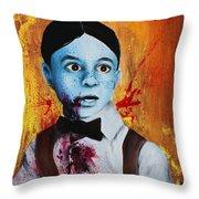 Zombie Alfalfa Throw Pillow