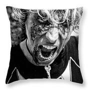 Zombie Run Nola 14 Throw Pillow