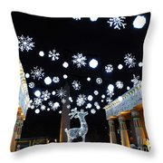 Zoo Lights At The Zoo Memphis Throw Pillow