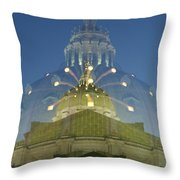 Zoomy Dome   # Throw Pillow