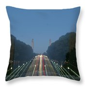 Zoomy Pic Of The Plaza State Capital Pa Throw Pillow