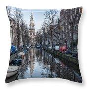 Zuiderkerk Amsterdam Throw Pillow