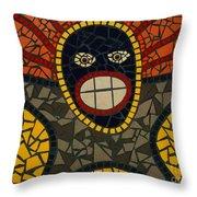 Zulu Man Throw Pillow