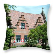 Zwaanendal Museum II - Henlopen  Throw Pillow