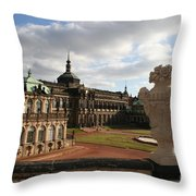 Zwinger Dresden - Germany Throw Pillow