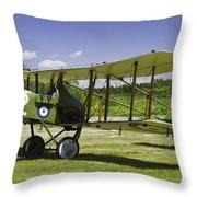 1916 Royal Aircraft F.e.8 World War One Airplane Photo Poster Print Throw Pillow