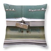 1951 Nash Ambassador Hydramatic Back Throw Pillow