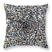 3d Art Abstract Throw Pillow