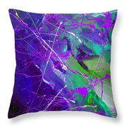 4th Symphony Of The Voyage Of The Stars Throw Pillow